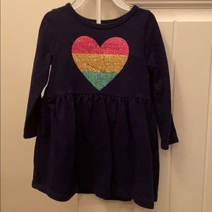 Carter's 24 month cotton navy blue dress